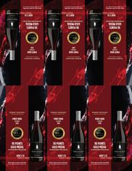 2019 Robert Mondavi Private Selection Pinot Noir Shelf Talker 2021 San Diego Wine & Spirits Challenge 90 Points Gold Medal
