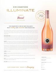Kim Crawford 2021 Illuminate Rosé NSRP Tasting Note - United States