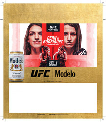 Modelo UFC Fight Night- Dern Vs Rodriguez Can Tuckcard Template