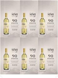 SIMI 2019 Sauvignon Blanc Holiday FY22 The Tasting Panel 90 Points 6 Up Shelf Talker