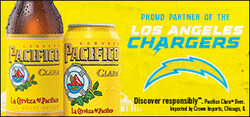 2021 Pacifico LA Chargers- eComm - Large Banner - No CTA - 320 x 150 - Online use only – not for print