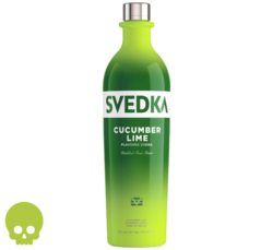 SVEDKA Cucumber Lime 750ml Bottle Halloween No Text Icon COPHI - Temporary Image