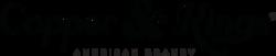 Copper & Kings Linear Logo - Black