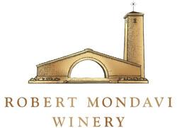 Robert Mondavi Winery Logo - Stacked Gold