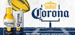 2021 Corona Extra Football Flow eComm - Large Banner - No CTA - 320 x 150 - Online use only – not for print