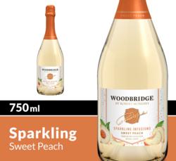Woodbridge Sparkling Infusions Sweet Peach 750ml Bottle COPHI