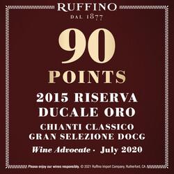 Ruffino Reserva Ducale Oro Chianti EdPi Image - Award