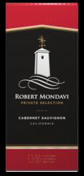 Robert Mondavi Private Selection Cabernet Sauvignon Red Wine 1.5L Box - Front Facing