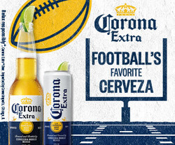 2021 Corona Extra Football Flow eComm - Rectangle - No CTA - 320 x 250 - Online use only – not for print