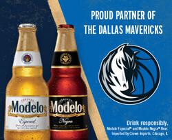 2021 Modelo Dallas Mavericks - eComm - No CTA - 382 x 310 - Online use only – not for print