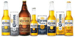 Family of Brands 2021 Corona Bottles and Cans