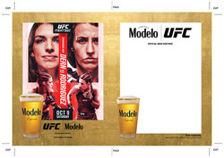 Modelo UFC Fight Night- Dern Vs Rodriguez Draft Wood Insert Template