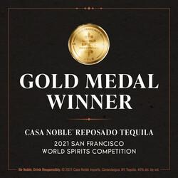 Casa Noble Reposado PDP Image - Award