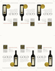 2017 Mount Veeder Winery Reserve Shelf Talker San Francisco Chronicle Wine Competition 2021 Gold