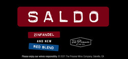 Saldo Zinfandel, Red Blend Holiday FY22 Large Digital Banner - No CTA - 320x150 - For Online Use Only, Not for print or paid media