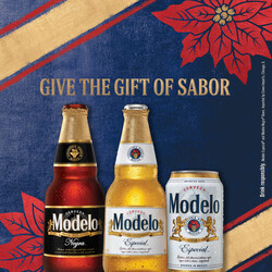 2021 Modelo Holiday - Square Post Version 2 - Social Asset - Online use only – not for print