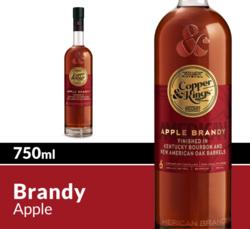 Copper & Kings American Apple Brandy 750 mL Bottle COPHI