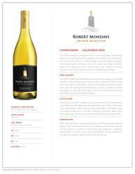 2019 Robert Mondavi Private Selection Chardonnay Tasting Note
