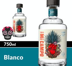 Mi CAMPO Blanco 750ml Bottle Halloween Icon COPHI - Temporary Image