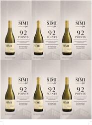 SIMI 2018 Chardonnay Holiday FY22 The Tasting Panel 92 Points 6 Up Shelf Talker