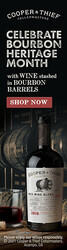 2018 Cooper & Thief California Red Blend Summer FY22 Skyscraper Digital Banner - Shop Now CTA - 160x600 - Online Use Only, Not for print