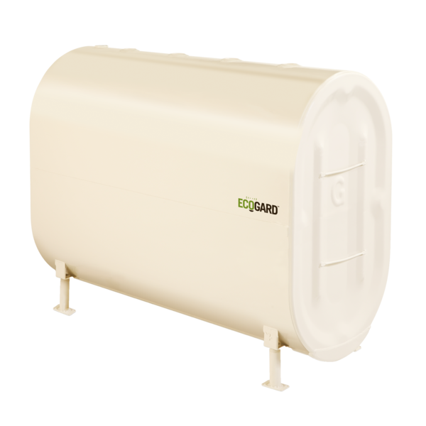 Granby EcoGuard Oil Tank. Granby Double Bottom steel oil tank