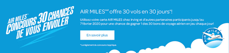 Air Miles Flight-A-Day Giveaway
