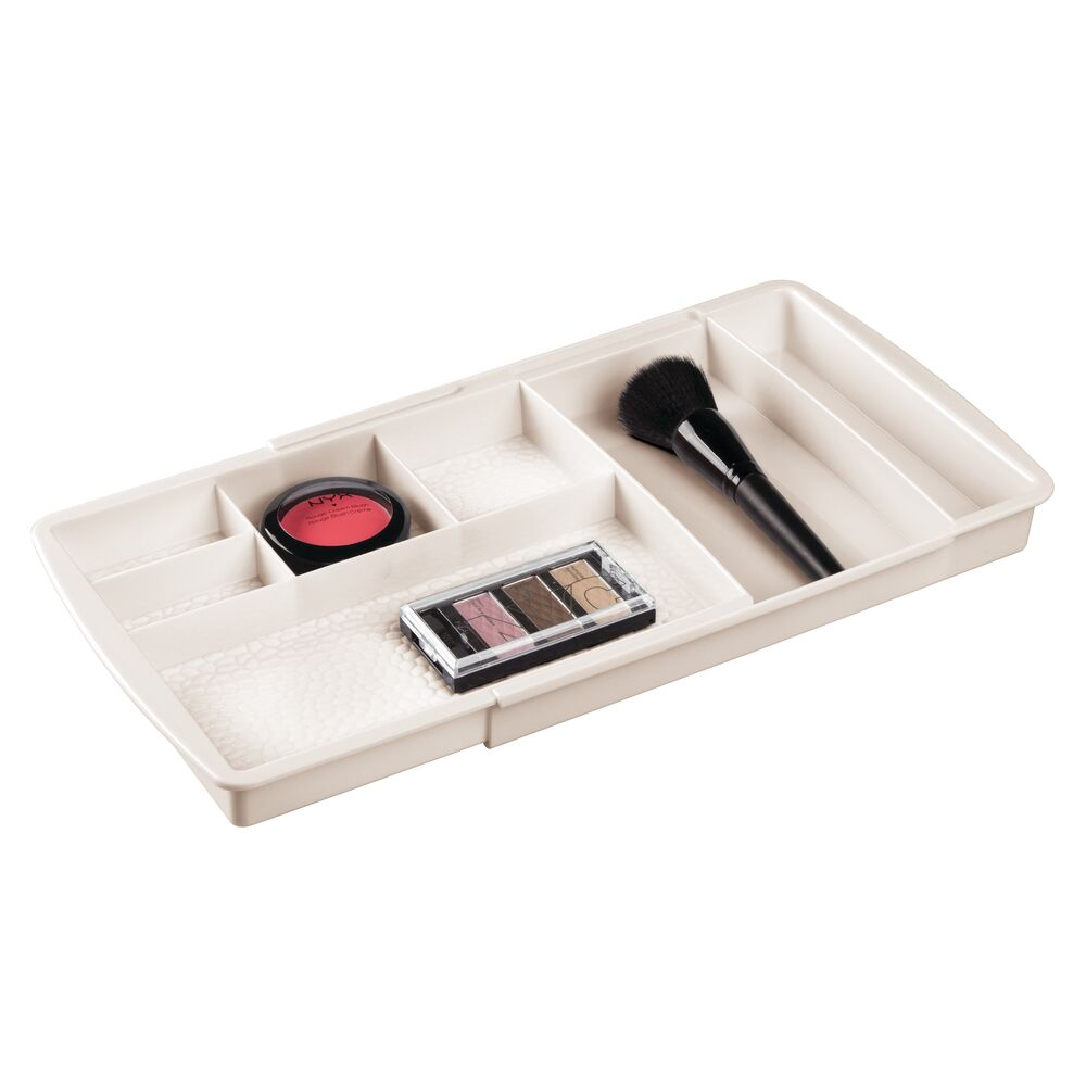 mDesign-Expandable-Makeup-Organizer-Tray-for-Bathroom-Drawers thumbnail 19