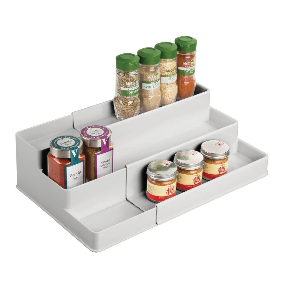 mDesign-Expandable-Kitchen-Cabinet-Pantry-Organizer-Spice-Rack thumbnail 44