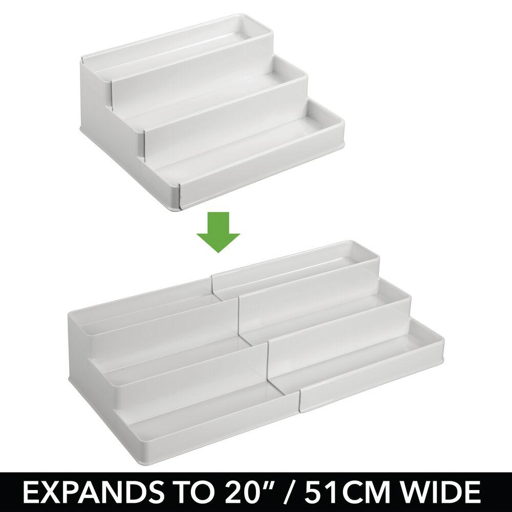 mDesign-Expandable-Kitchen-Cabinet-Pantry-Organizer-Spice-Rack thumbnail 42