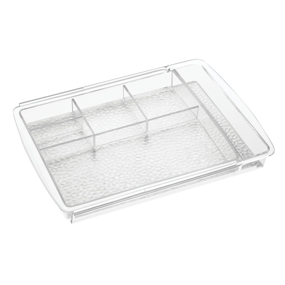 mDesign-Expandable-Makeup-Organizer-Tray-for-Bathroom-Drawers thumbnail 11