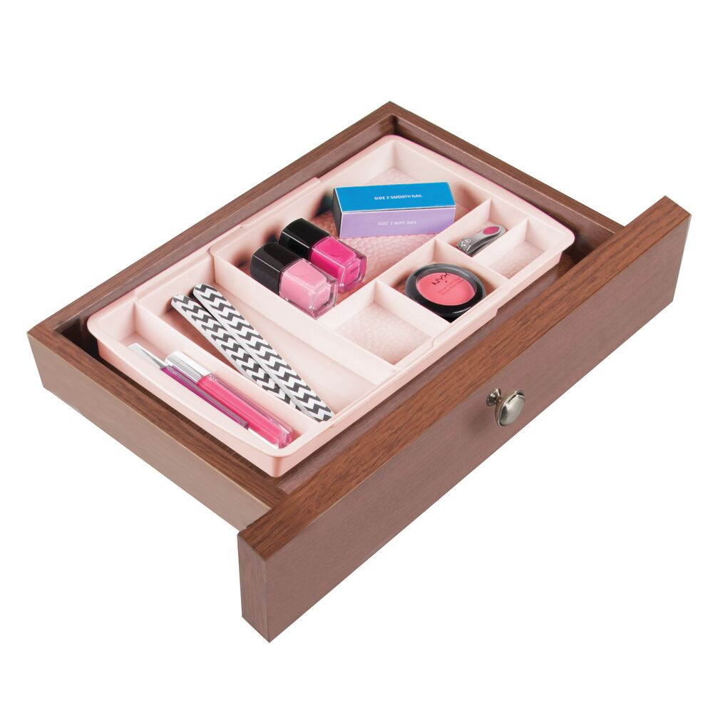 mDesign-Expandable-Makeup-Organizer-Tray-for-Bathroom-Drawers thumbnail 46