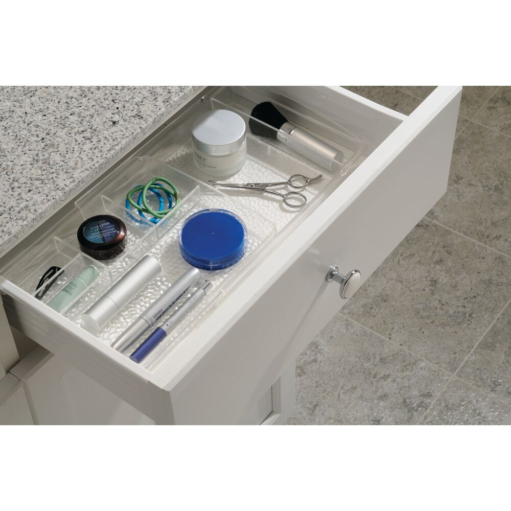 mDesign-Expandable-Makeup-Organizer-Tray-for-Bathroom-Drawers thumbnail 5