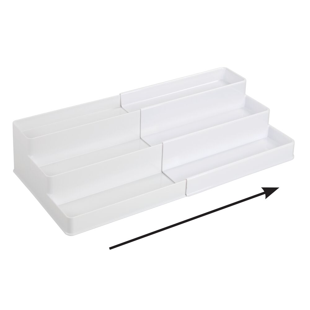 mDesign-Expandable-Kitchen-Cabinet-Pantry-Organizer-Spice-Rack thumbnail 55