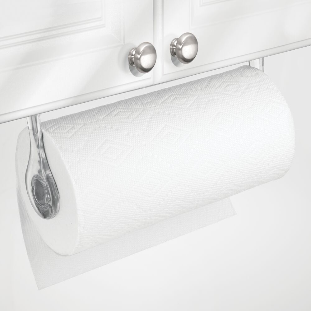 mDesign Plastic Wall Mount / Under Cabinet Paper Towel ...