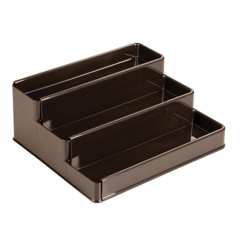 mDesign-Expandable-Kitchen-Cabinet-Pantry-Organizer-Spice-Rack thumbnail 17