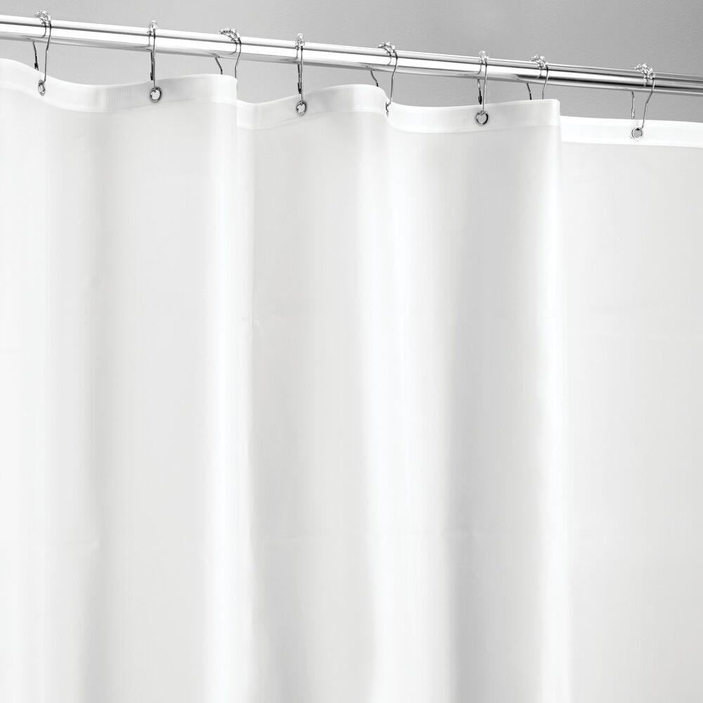mDesign-Premium-Waterproof-Vinyl-Shower-Curtain-Liner-72-034-x-72-034 miniatuur 28
