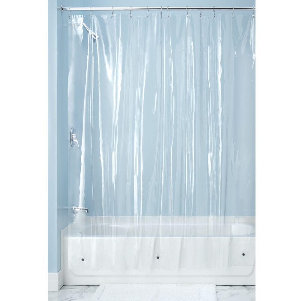 mDesign-Premium-Waterproof-Vinyl-Shower-Curtain-Liner-72-034-x-72-034 miniatuur 18