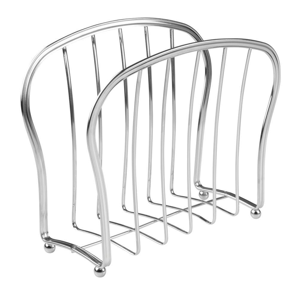 mDesign-Metal-Standing-Rack-Magazine-Holder-for-Bathroom thumbnail 29