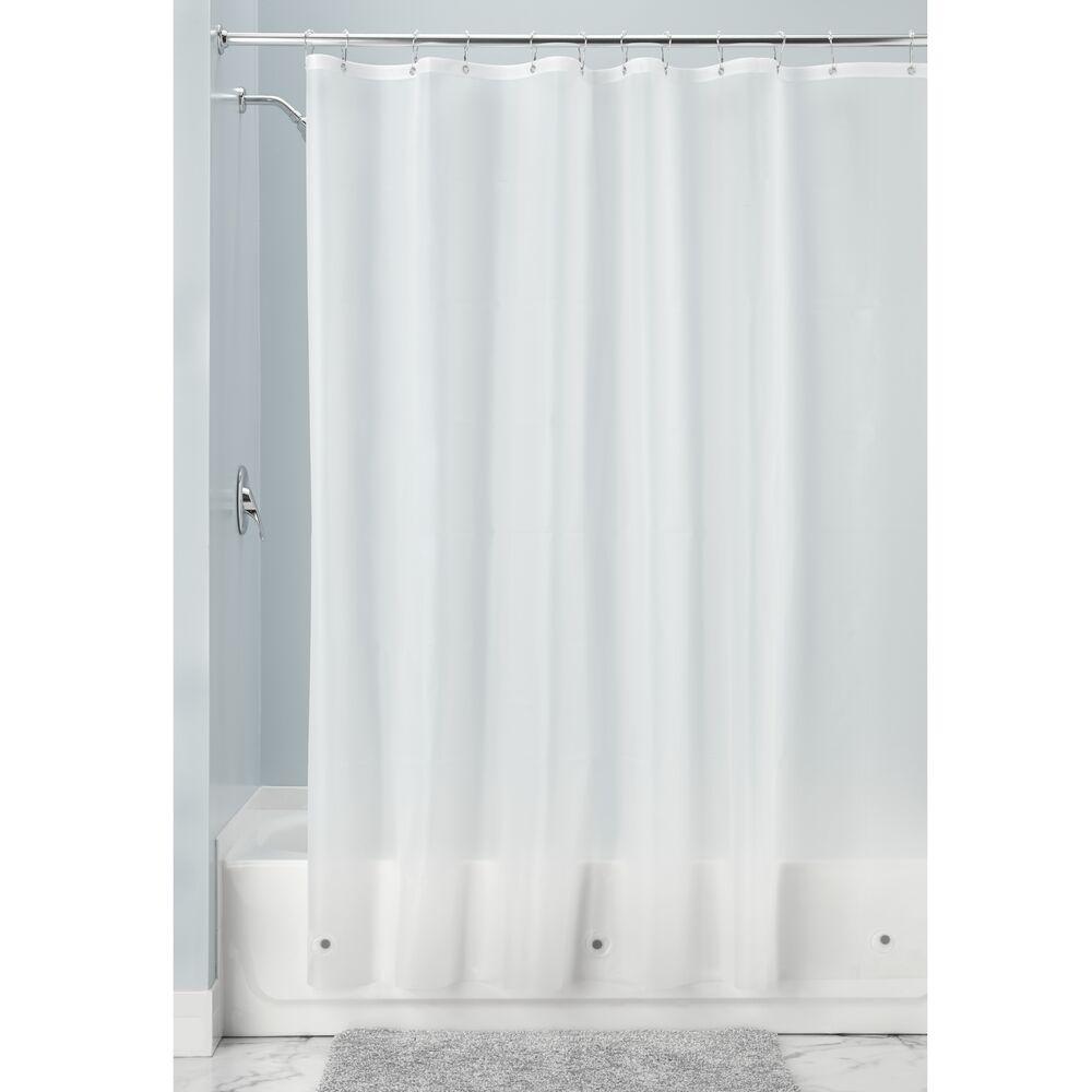 mDesign-Premium-Waterproof-Vinyl-Shower-Curtain-Liner-72-034-x-72-034 miniatuur 29