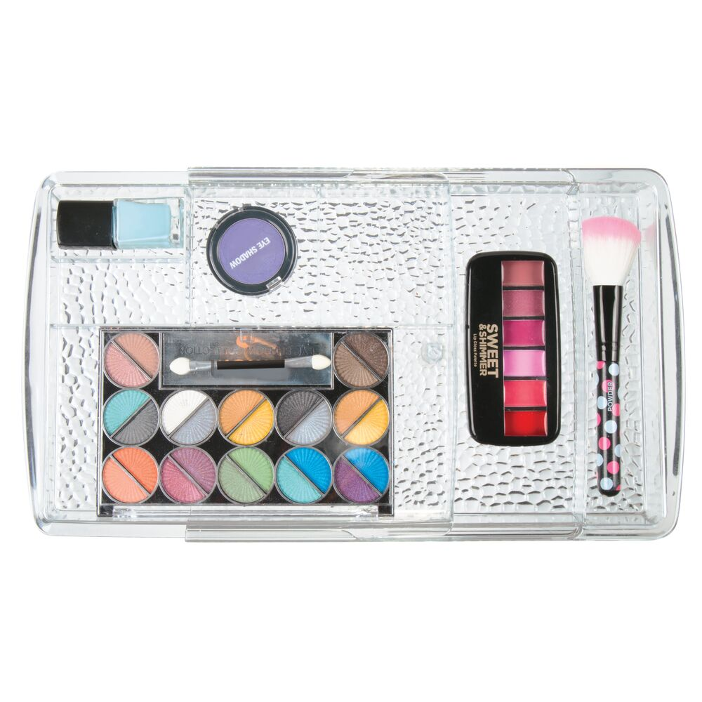 mDesign-Expandable-Makeup-Organizer-Tray-for-Bathroom-Drawers thumbnail 7