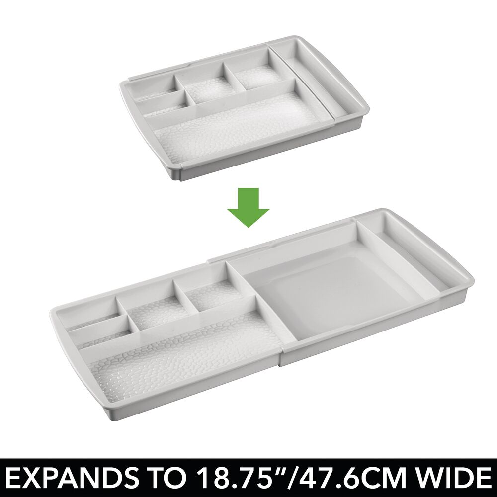 mDesign-Expandable-Makeup-Organizer-Tray-for-Bathroom-Drawers thumbnail 27