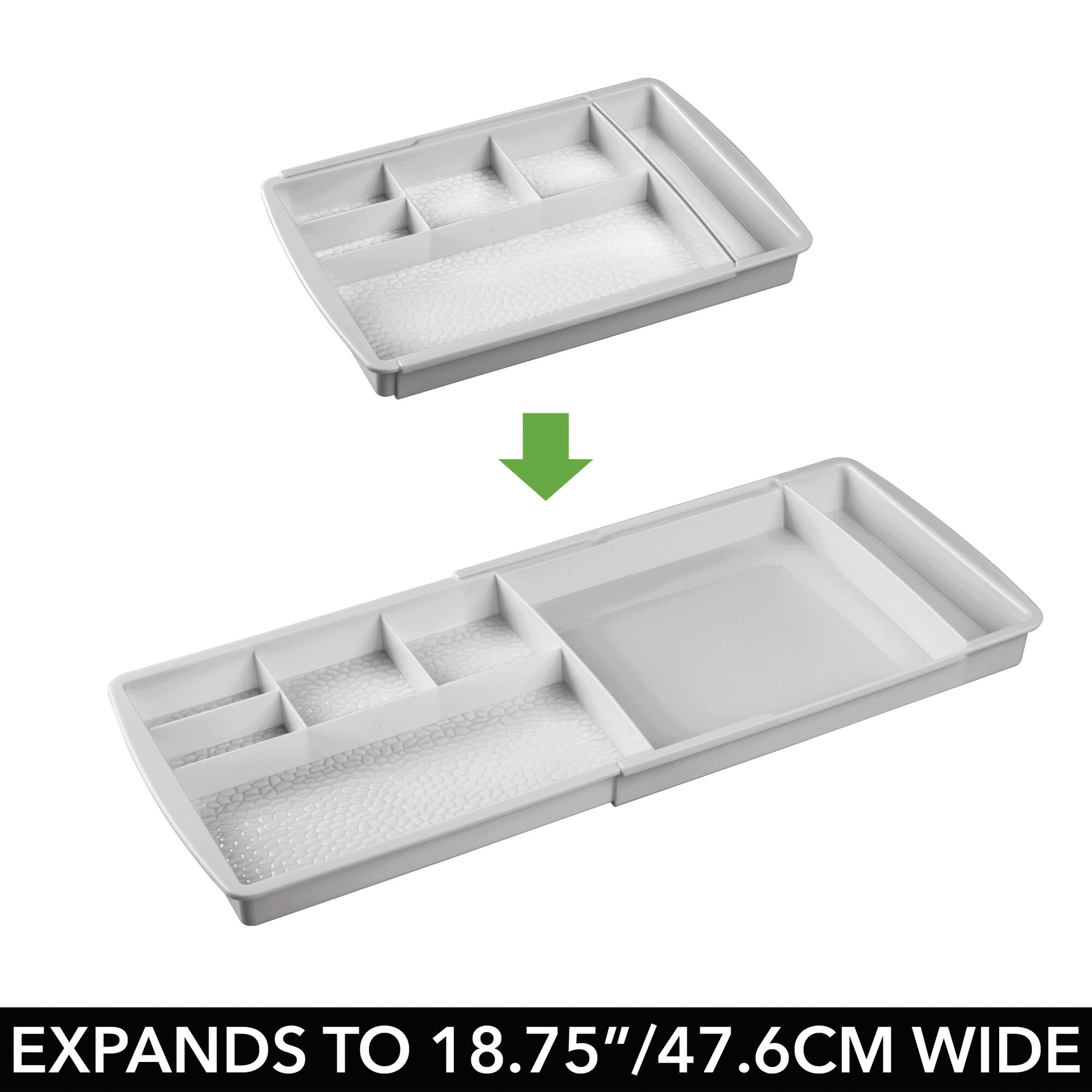 mDesign-Expandable-Makeup-Organizer-Tray-for-Bathroom-Drawers thumbnail 34