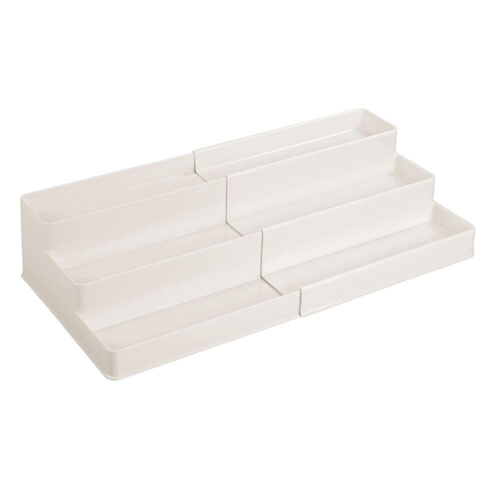 mDesign-Expandable-Kitchen-Cabinet-Pantry-Organizer-Spice-Rack thumbnail 36