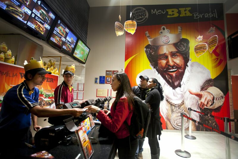 Bloomberg Burger King Brazil