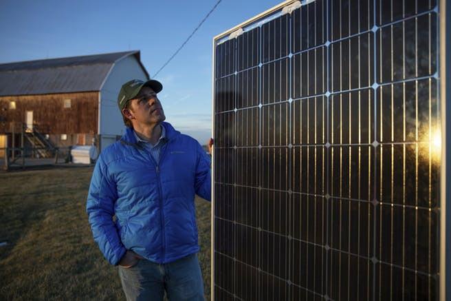 Solar Panel Associated Press