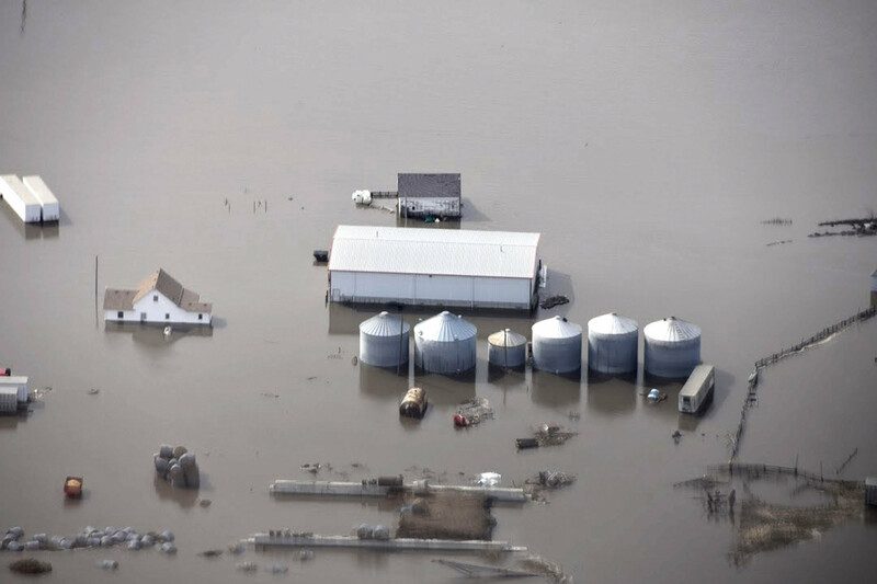 Nebraska Farm Flooding March 2019