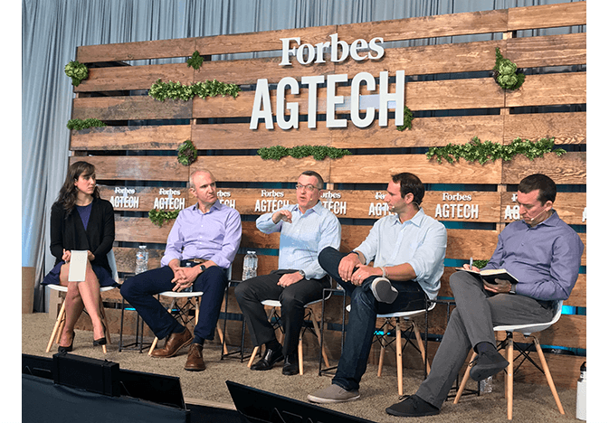 Forbes AgTech greenhouse panel