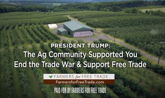Image result for farmers for free trade ad