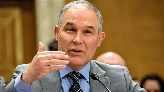Scott Pruitt, EPA Administrator